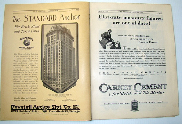 The American Contractor Magazine, April 13, 1929, Editor Not Stated