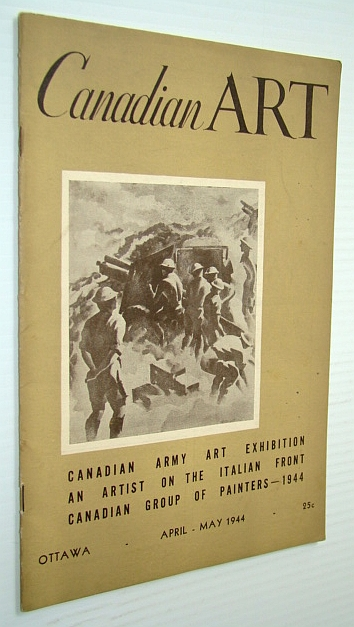Image for Canadian Art Magazine, April-May 1944, Vol 1, No. 4