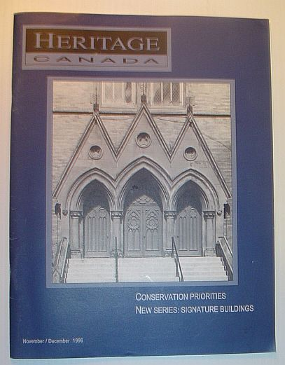 Heritage Canada Magazine, November/December 1996, Multiple Contributors