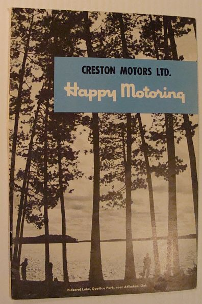 Happy Motoring: A Publication of Esso/Imperial Oil, Volume 16, Number 1, 1955, Multiple Contributors