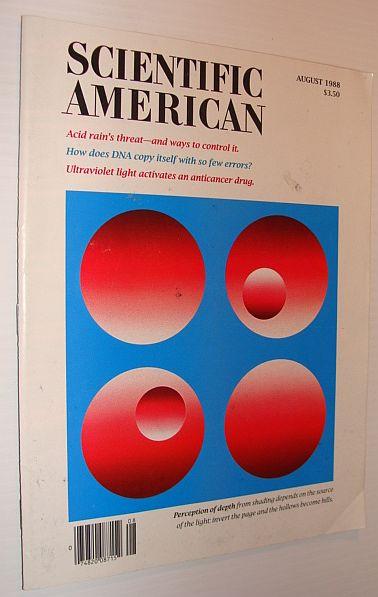 Image for Scientific American Magazine, August 1988