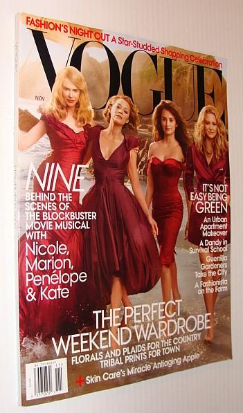 Image for Vogue Magazine, November 2009