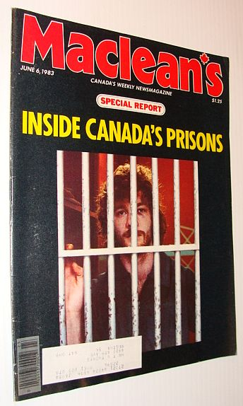 Image for Maclean's Magazine, June 6, 1983 *INSIDE CANADA'S PRISONS*
