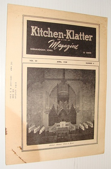 Kitchen-Klatter Magazine, April 1958, Multiple Contributors