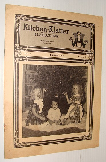 Kitchen-Klatter Magazine, December 1948, Multiple Contributors