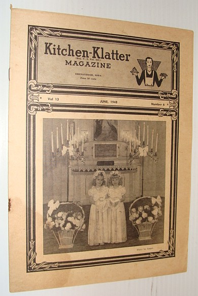 Kitchen-Klatter Magazine, June 1948, Multiple Contributors