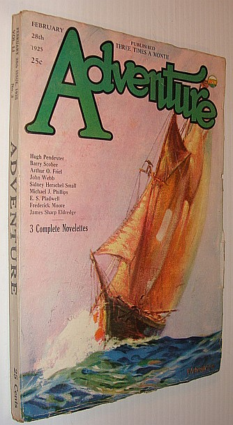 Adventure Magazine, February 28th, 1925, Multiple Contributors