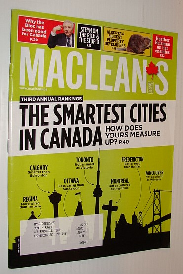 Maclean's Magazine, 31 May 2010, Multiple Contributors