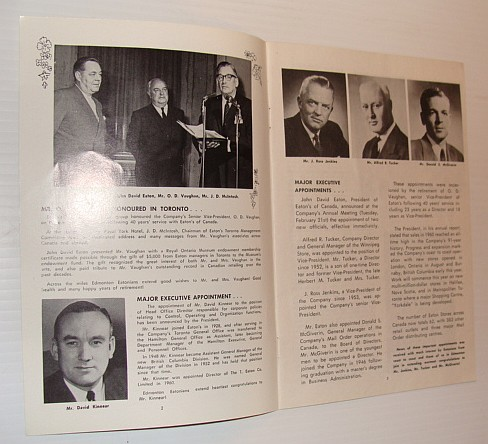 Image for The Edmontonian, March 1961 - Published monthly in the interests of employees of the T. Eaton Co., Western Ltd., Edmonton