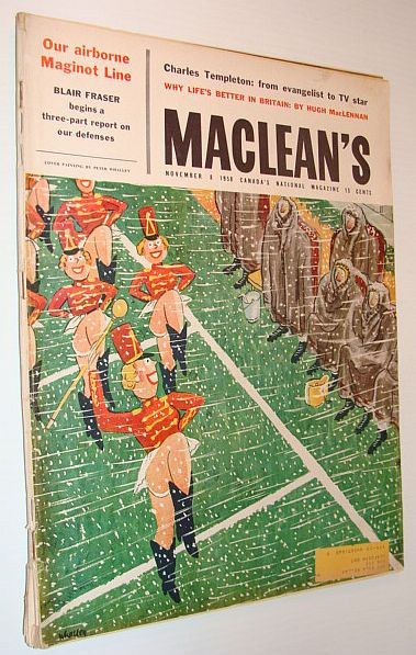 Maclean's Magazine, 8 November 1958 - When Vancouver Turned Back the Sikhs, Multiple Contributors
