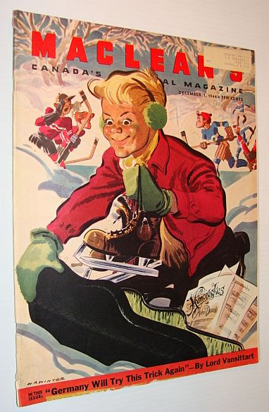 Maclean's Magazine, December 1, 1944, Multiple Contributors