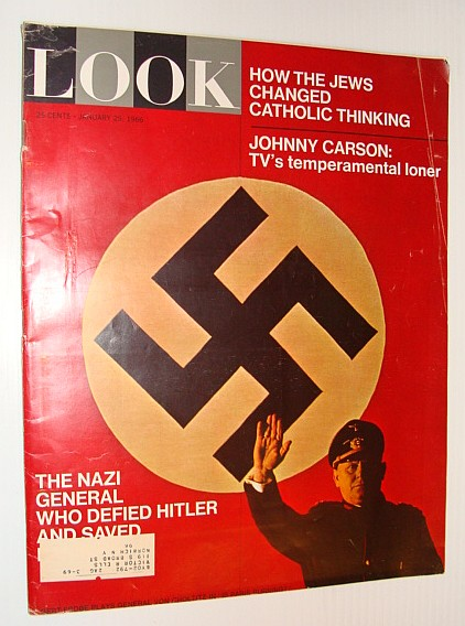 Look Magazine, January (Jan.) 25, 1966 - How the Jews Changed Catholic Thinking, Kalkstein, Shawn; Roddy, Joseph; Ehrlich, Henry; et al