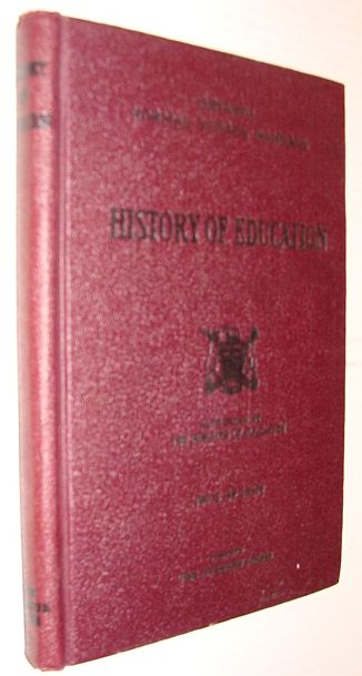 History of Education - Ontario Normal School Manuals, Author Not Stated