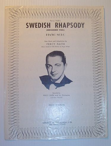Image for Swedish Rhapsody (Midsummer Vigil) - Piano Solo