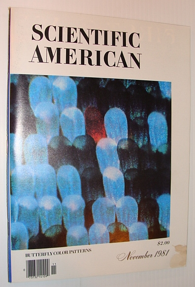 Image for Scientific American, November 1981 - Butterfly Color Patterns