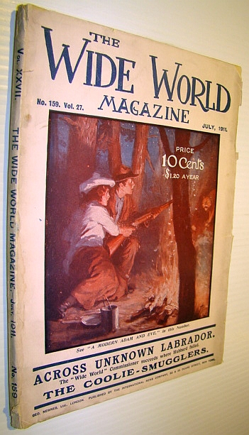 The Wide World Magazine, July 1911 - Across Unknown Labrador - Part III By H. Hesketh Prichard, Multiple Contributors