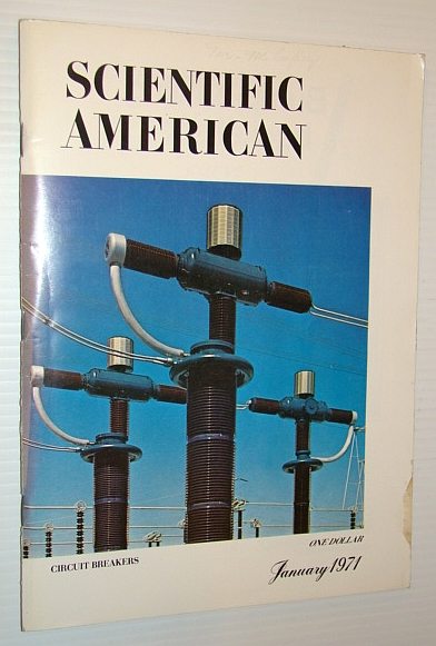 Scientific American, January 1971, Volume 224 Number 1 - Circuit Breakers