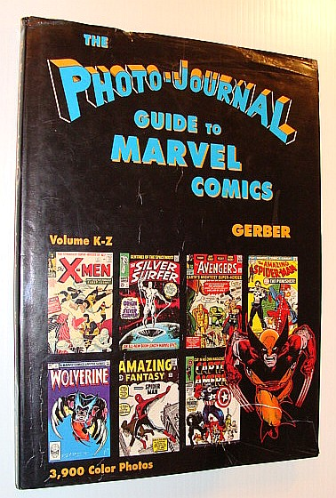 Image for Photo-Journal Guide to Marvel Comics Volume 4 (K-Z)