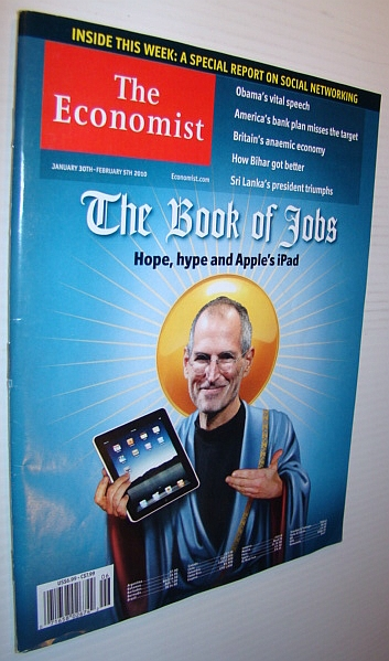 The Economist Magazine, January 30th - February 5th 2010 - Steve Jobs/iPod Cover, Multiple Contributors