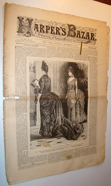 Harper's Bazar (Bazaar) Magazine, December 25, 1886 - A Repository of Fashion, Pleasure, and Instruction, Multiple Contributors