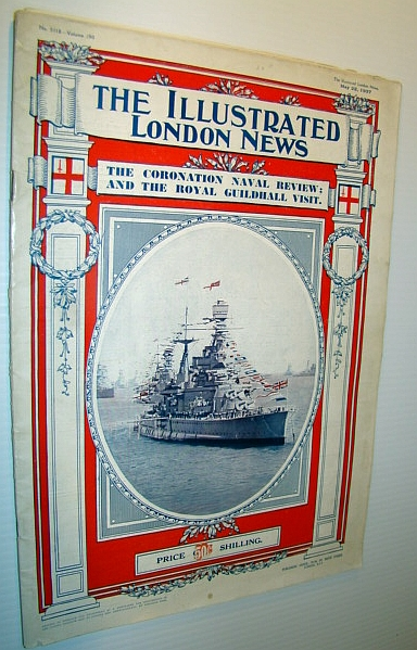 The Illustrated London News, May 22, 1937 - The Coronation Naval Review, Royal Guildhall Visit, The Hindenburg Disaster, Various Contributors