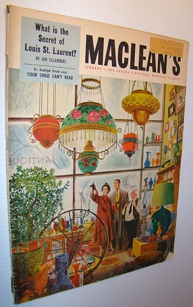 Image for Maclean's Magazine, January 1, 1955