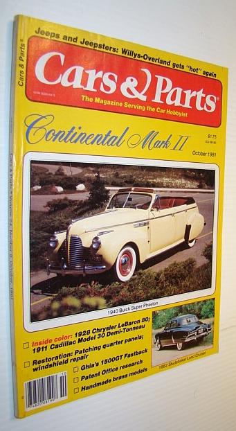 Cars & Parts Magazine, October 1981, Multiple Contributors