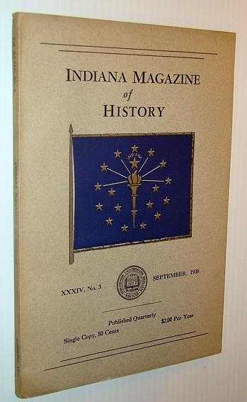 Image for Indiana Magazine of History, September 1938