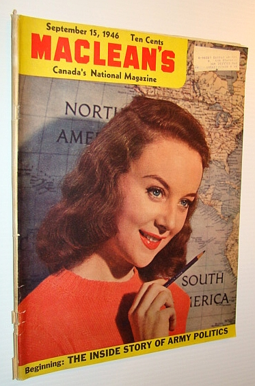 Image for Maclean's - Canada's National Magazine, September 15, 1946