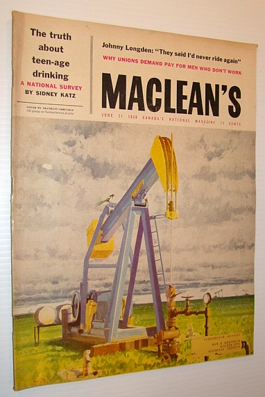Image for Maclean's - Canada's National Magazine, June 21, 1958