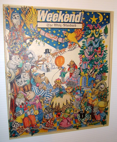 Weekend Magazine, December 24 1977 (Canadian Newspaper Supplement) - K-Tel Products, Rossiter, Sean; Young, Catherine; Parry, David; Enright, Janet; Oliver, Margo