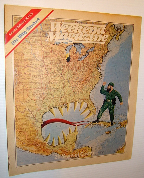 Image for Weekend Magazine, February 10, 1979 (Canadian Newspaper Supplement)  - 20 Years of Fidel Castro