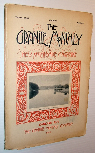 Image for The Granite Monthly - A New Hampshire Magazine - March 1899: Stratham Feature Article