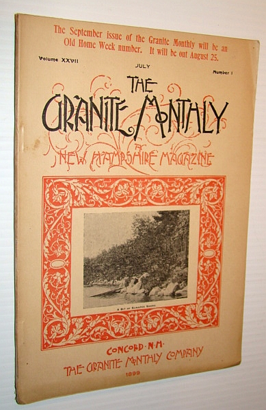 Image for The Granite Monthly - A New Hampshire Magazine - July 1899: Hon. Leonard Allison Morrison