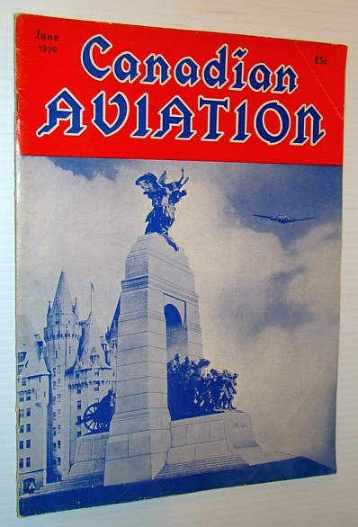 Canadian Aviation Magazine, June 1939