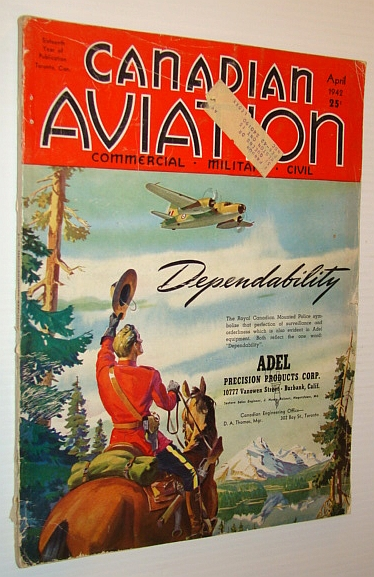 Canadian Aviation Magazine, April 1942