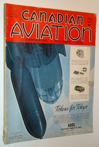 Canadian Aviation Magazine, May 1942