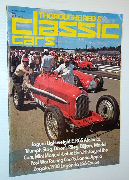 Thoroughbred and Classic Cars Magazine, April 1975