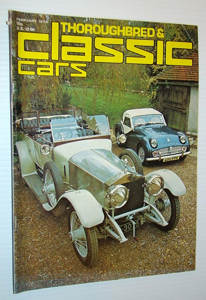 Thoroughbred and Classic Cars Magazine, February 1976 - Ken Wharton