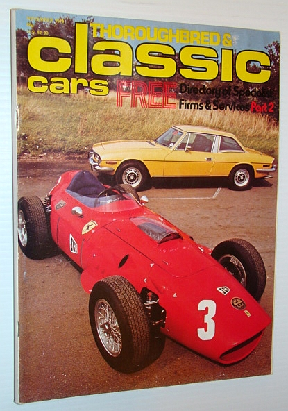 Thoroughbred and Classic Cars Magazine, November 1979 - V12 Auto-Union