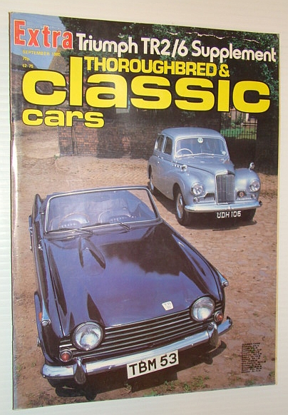 Thoroughbred and Classic Cars Magazine, September 1980 - Triumph TR2/6 Supplement