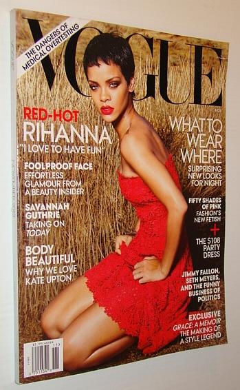 Vogue Magazine (US), November 2012 - Rihanna Cover Photo, Bowles, Hamish; et al