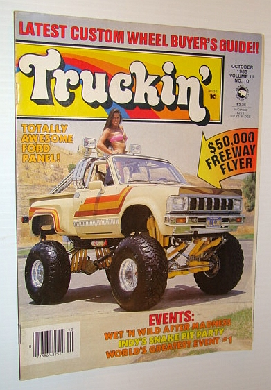 Truckin' Magazine, October 1985, Brooks, Sharon; et al