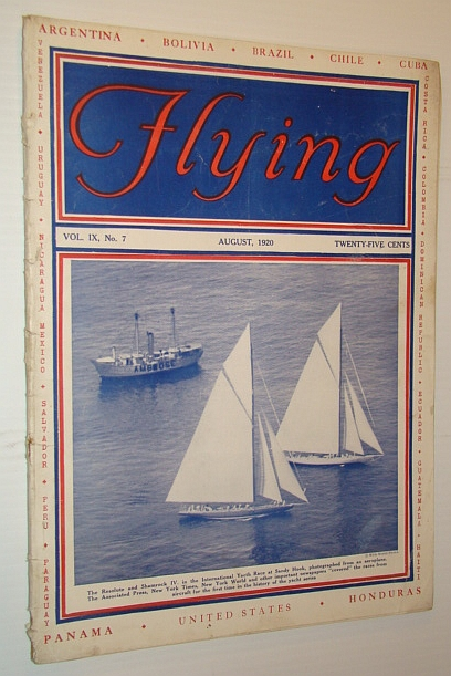 Flying Magazine, August 1920, Volume IX, No. 7, Bartlett, Alice Hunt; Woodhouse, Henry; Veit, Sidney B.;