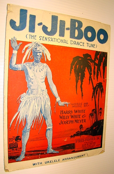 Image for Ji-Ji-Boo (The Sensational Dance Tune) - Sheet Music for Voice and Piano with Ukulele Arrangement