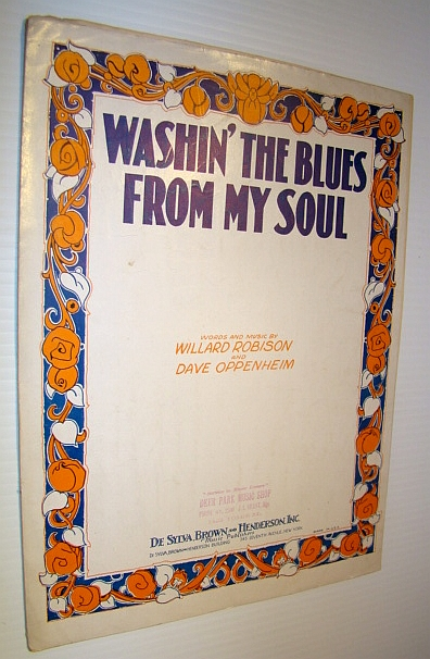 Image for Washin' The Blues From My Soul - Sheet Music for Piano and Voice with Ukulele Chords