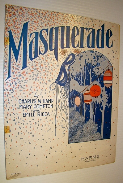Image for Masquerade - Sheet Music for Voice and Piano