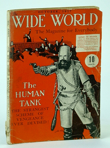 Image for The Wide World - The Magazine for Everybody, October 1917, Vol. XXXIX, No. 234 - The Human Tank