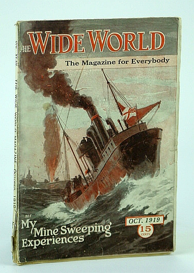 Image for The Wide World Magazine, October 1919, Vol. XLIII, No. 258 - My Mine-Sweeping Experiences