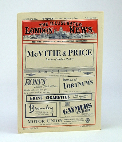 The Illustrated London News (ILN), Saturday, May 30, 1942 - Tokyo, The Most Inflammable Capital in the World, Bryant, Arthur; Falls, Cyril; Squire, Sir John;